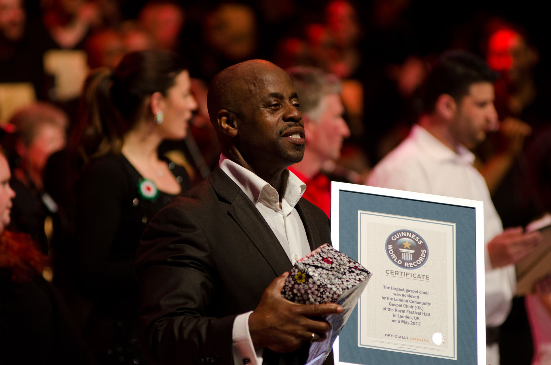 Bazil Meade MBE, Guinness World Record
